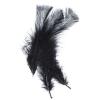Marabou Feathers 4-6'' Black